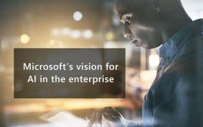 Microsoft's vision for AI in the enterprise
