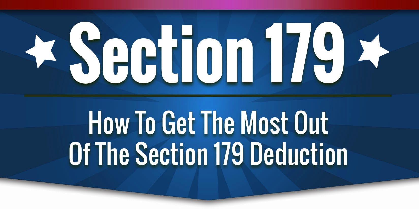 What is the Section 179 Deduction
